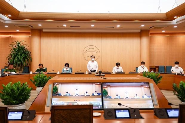 新冠肺炎疫情:河内市设立22个省际疫情防控检查站 hinh anh 1