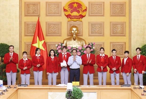 政府总理范明政:体育有助于加强民族大团结 展现越南人意志和毅力 hinh anh 2