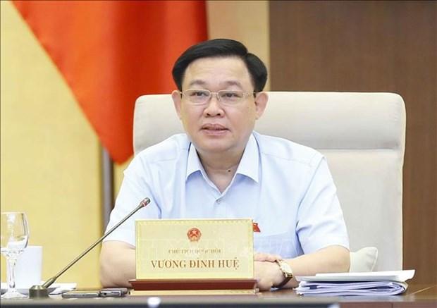 国会主席:主动加强核查 破除机制体制障碍 hinh anh 1