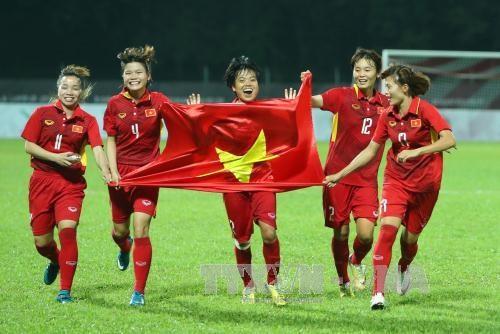 2022年女足亚洲杯预选赛:越南女足国家队将于7月中旬开始集结 hinh anh 1