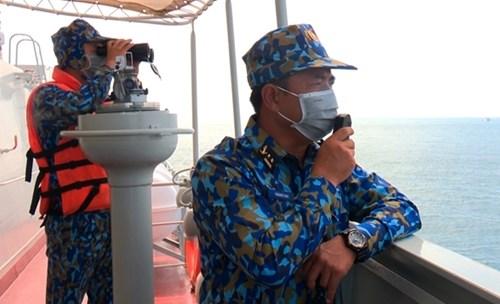 越南人民海军代表团首次参加国际军事比赛:在国际赛场上锤炼本领 hinh anh 1