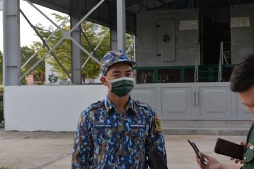 越南人民海军代表团首次参加国际军事比赛:在国际赛场上锤炼本领 hinh anh 2