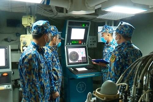 越南人民海军代表团首次参加国际军事比赛:在国际赛场上锤炼本领 hinh anh 3