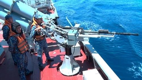 越南人民海军代表团首次参加国际军事比赛:在国际赛场上锤炼本领 hinh anh 6