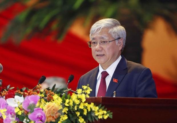 越南祖国阵线中央委员会主席致信祝贺伊斯兰教宰牲节 hinh anh 1