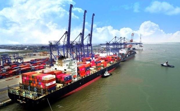 越南海防港货物吞吐量达近1500万吨 hinh anh 1