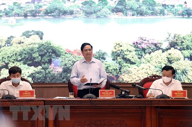 """范明政总理:将河内建成不愧于千年文化底蕴、""""致力于和平城市""""的首都 hinh anh 1"""
