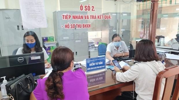 越南社保大力支持受疫情影响企业和劳动者 hinh anh 1