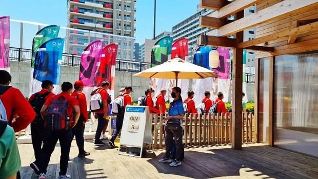 2020年东京奥运会:旅日越南人为越南奥运代表团免费提供wifi发射器 hinh anh 1