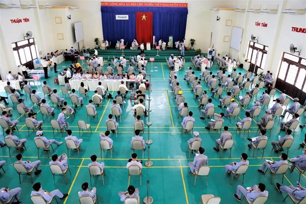 越南社保大力支持受疫情影响企业和劳动者 hinh anh 4