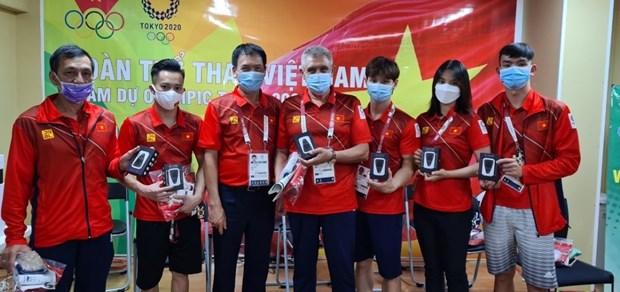 2020年东京奥运会:旅日越南人为越南奥运代表团免费提供wifi发射器 hinh anh 2