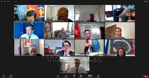 越南与联合国安理会:越南主持UNCLOS对可持续保护海洋资源重要性的会议 hinh anh 1