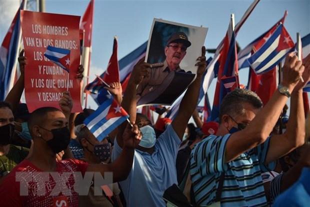 不结盟运动成员国对古巴人们给予支持 越南呼吁国际社会支持古巴 hinh anh 1