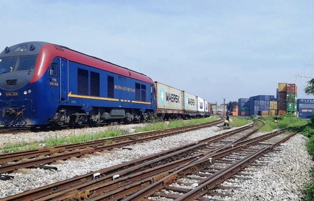 越南发往比利时的集装箱列车全程运行时间约为25天 hinh anh 1