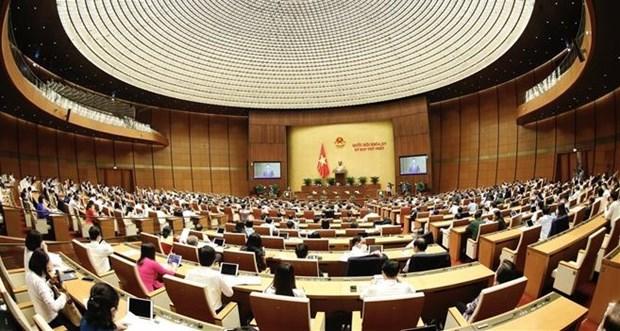 越南第十五届国会第一次会议:听取多项重要报告 hinh anh 1