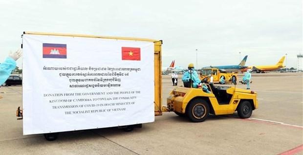 越南十分珍惜国际友人对越南抗击新冠肺炎疫情阻击战给予及时和切实的帮助 hinh anh 1