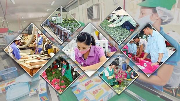 2021年越南GDP有望突破5000亿美元大关 hinh anh 1