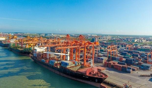 疫情冲击之下越南海港货物吞吐量仍保持稳定增长势头 hinh anh 1