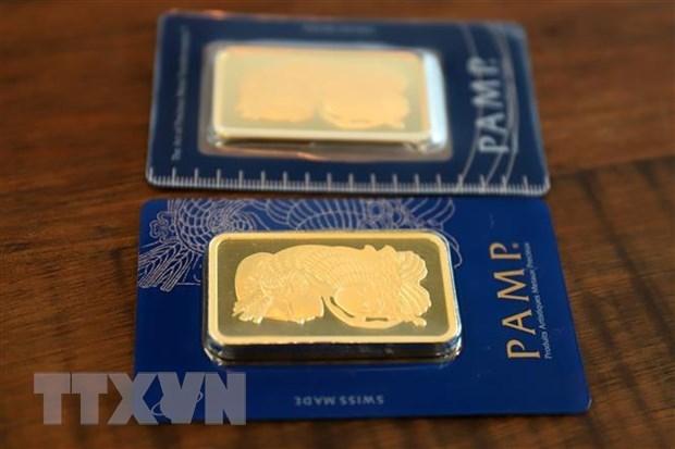 7月26日上午越南国内黄金价格下降10万越盾 hinh anh 1