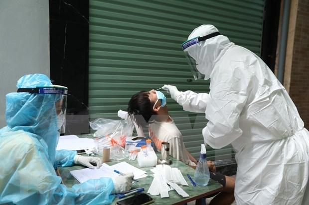 河内市新增24例新冠肺炎确诊病例 肿瘤医院17例 hinh anh 1