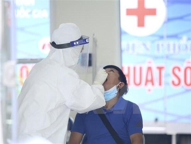 7月26日越南新增本土确诊病例7859例 hinh anh 1