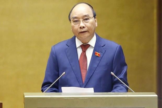 国家主席阮春福宣誓就职 承诺实现国家强大、全面且可持续发展目标 hinh anh 1