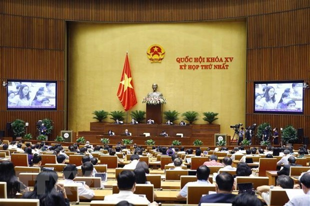 越南第十五届国会第一次会议新闻公报(第八号) hinh anh 1