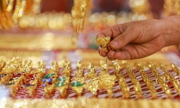 7月28日上午越南国内黄金价格下降10万越盾 hinh anh 1