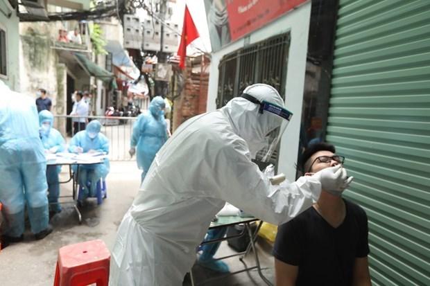 河内新增18例新冠肺炎确诊病例 hinh anh 1