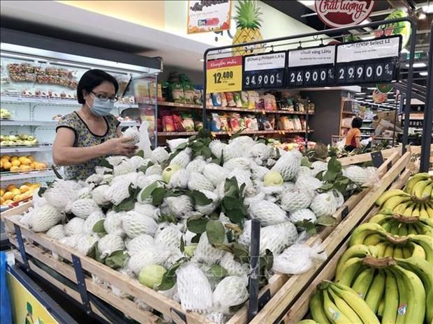 2021年7月份越南社会消费品零售和服务业总额同比下降近20% hinh anh 1