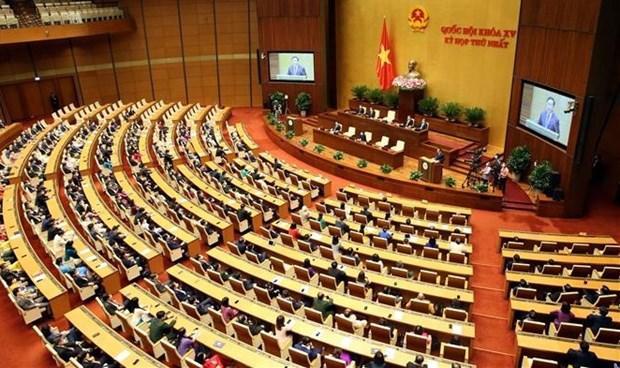 越南第十五届国会第一次会议新闻公报 hinh anh 1
