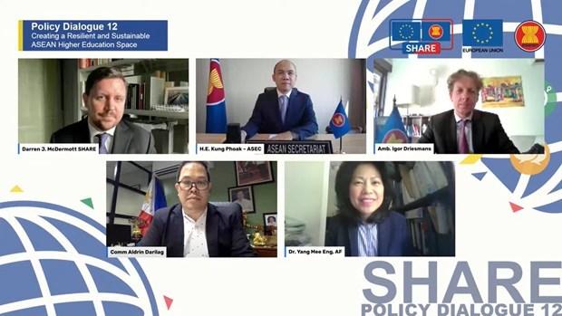 东盟与欧盟支持地区高等教育国际化 hinh anh 1