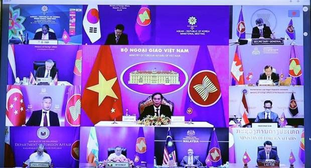 东盟—韩国外长会议:越南接任东盟—韩国关系协调国 hinh anh 2