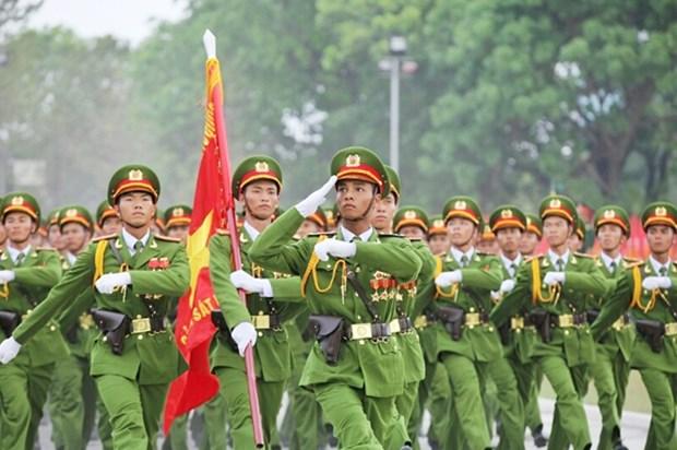 越南力争建设革命、正规、精锐、现代化的人民公安力量 hinh anh 1