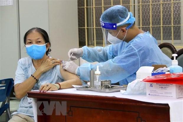 卫生部继续分配给胡志明市逾65万剂新冠疫苗 hinh anh 1