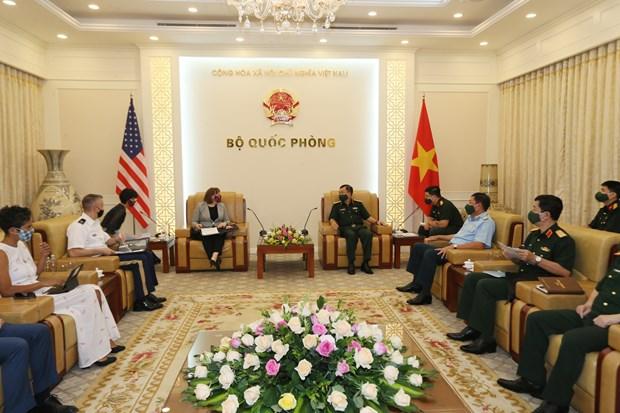 越南与美国促进战后遗留炸弹和与有毒化学品/二恶英后果处理的合作 hinh anh 1