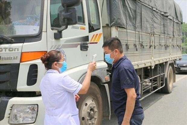 全国各地尽早为运输企业跨省驾驶员接种疫苗 hinh anh 1