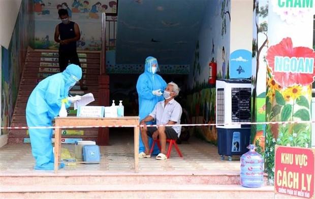 8月5日越南新增新冠肺炎确诊病例7244例 平阳省确诊病例较昨日下降60% hinh anh 1