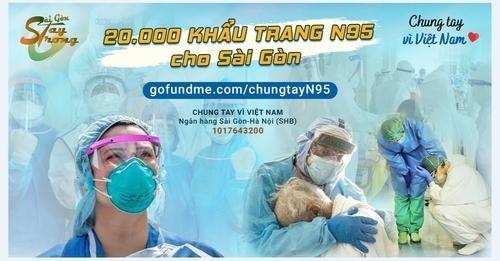在美越南青年积极开展为胡志明市援助的系列活动 hinh anh 1