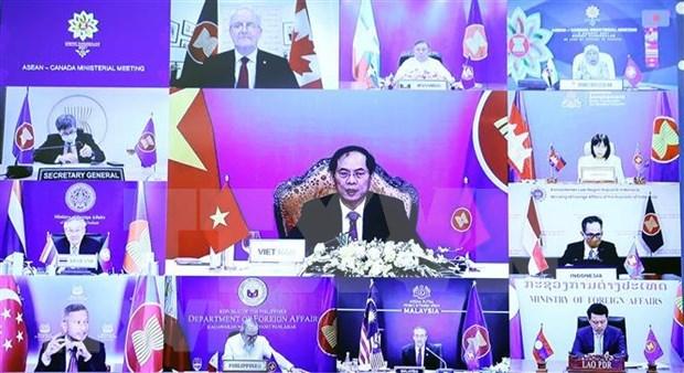 外交部例行记者会:越南的倡议赢得东盟和伙伴的支持 hinh anh 1
