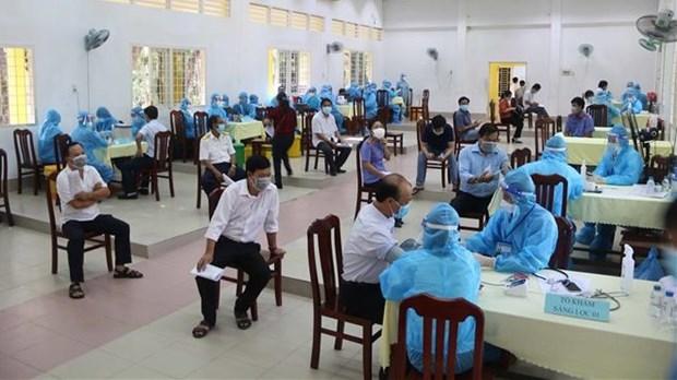越南继续优先向胡志明市和南部各省市分配新冠疫苗 hinh anh 1