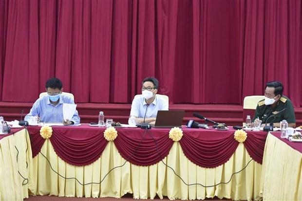 武德儋副总理:朔庄省须尽快发现疫情来袭 坚决防止疫情向社区蔓延 hinh anh 1