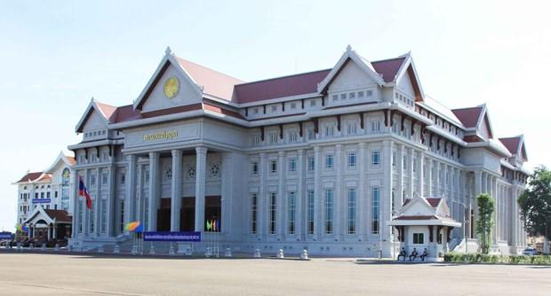 越南援建的老挝新国会大厦项目正式验收 hinh anh 1