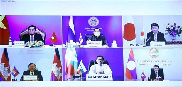 大湄公河次区域国家与日本加强环保合作 hinh anh 1