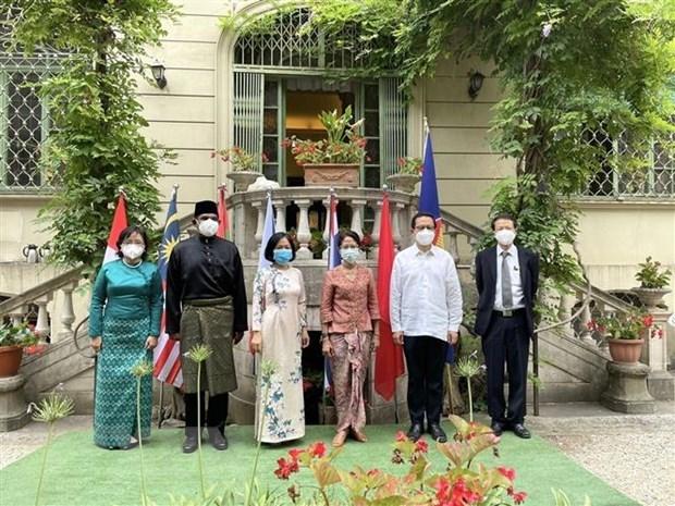 东盟成立54周年纪念典礼在意大利举行 hinh anh 1