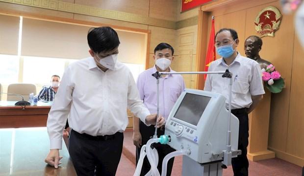 200台高功能呼吸机将运往胡志明市等南部各省市 hinh anh 1