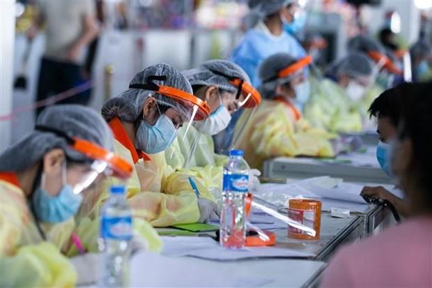 20日东南亚部分国家的新冠肺炎疫情形势 hinh anh 1