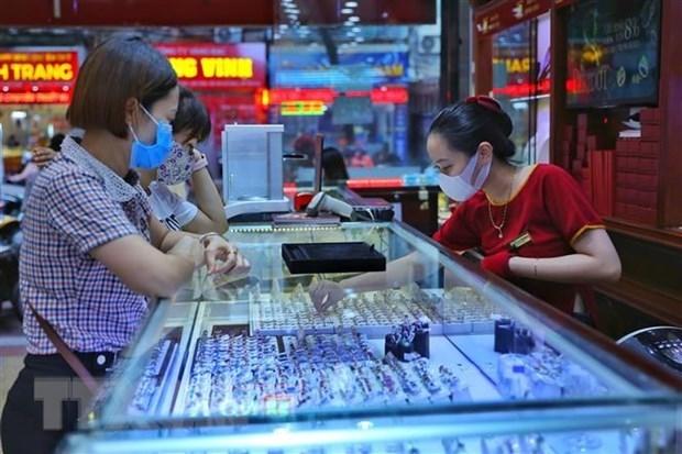 8月20日上午越南国内黄金价格保持不变 hinh anh 1