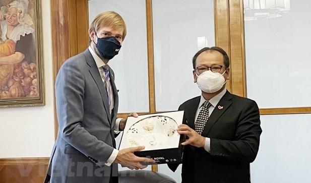 越南与捷克加强防疫合作 hinh anh 1