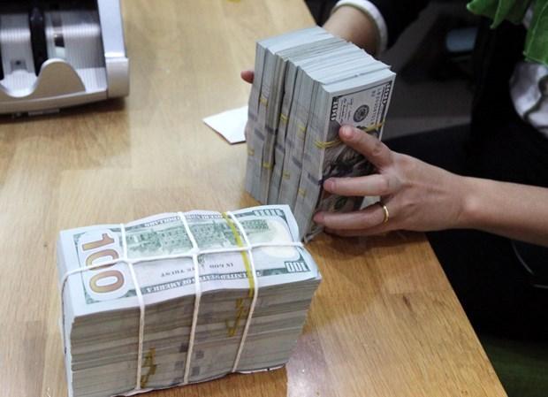 8月24日上午越盾对美元汇率中间价上调12越盾 hinh anh 1